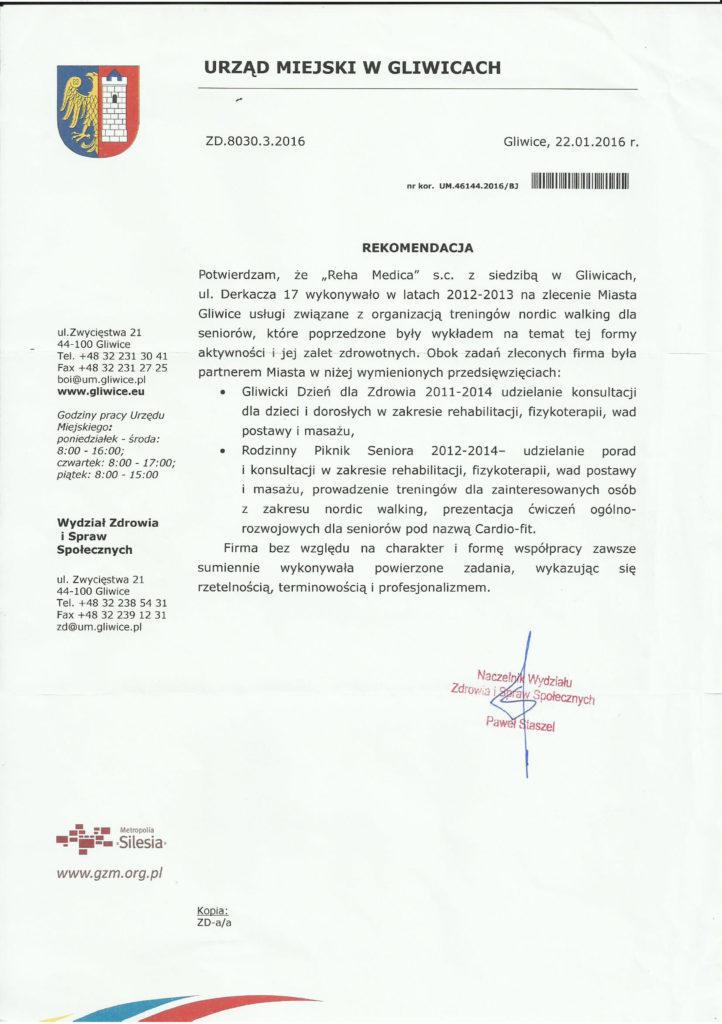 RehaMedica – Rehabilitacja Gliwice